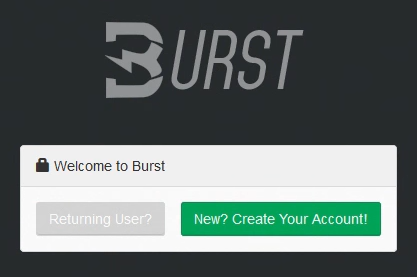 Create BURST Account
