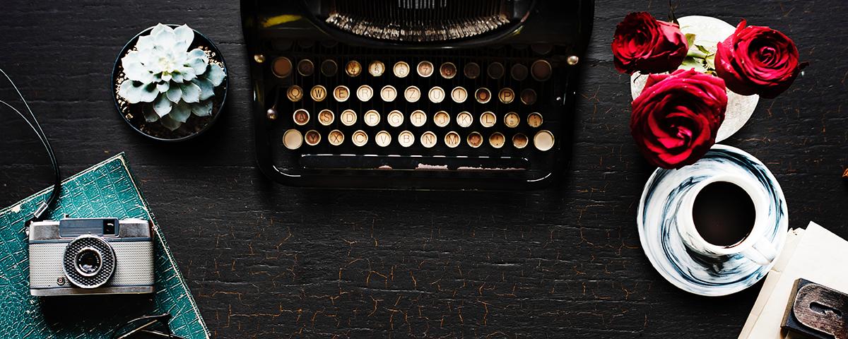 Old Format Typewriter