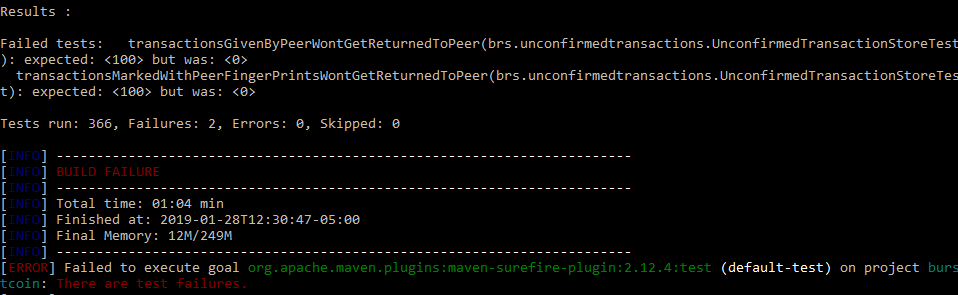 Compiling BRS with Maven